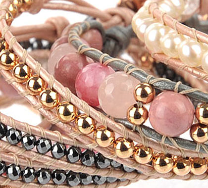 Frocking Pink Bracelet Collection