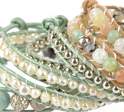 Pretty in Green Bracelet Collection